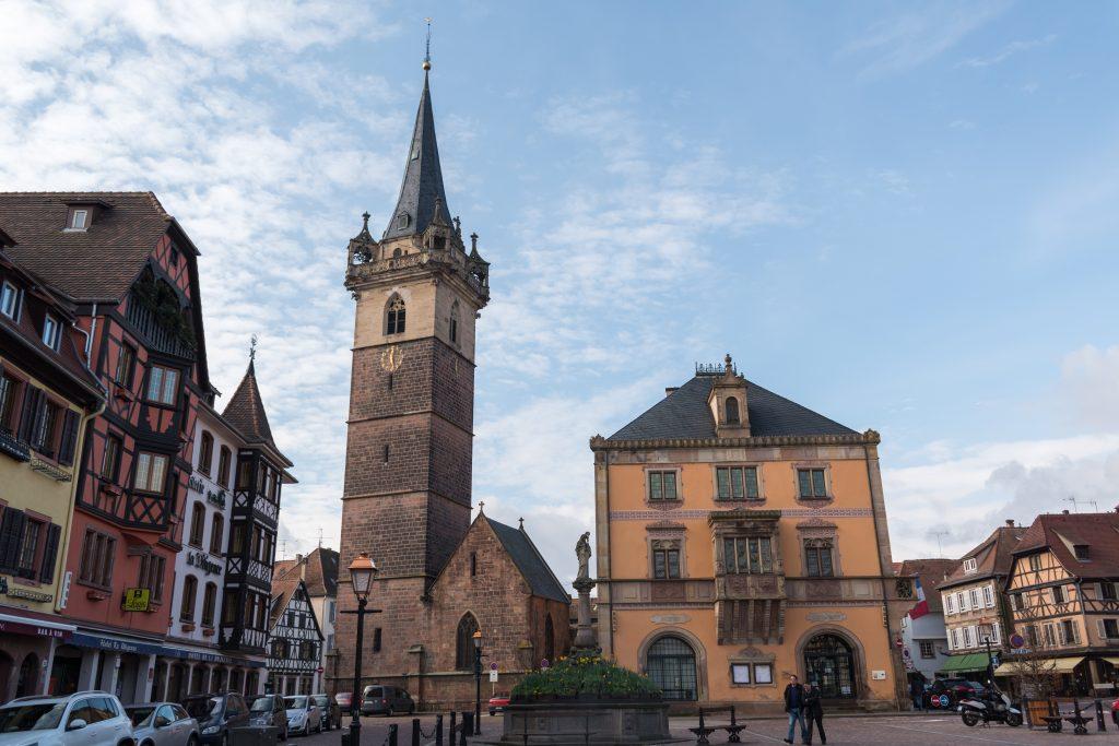 Place du Marché, Obernai. Todos los derechos reservados