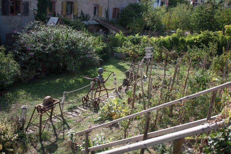 Jardines particulares del foso