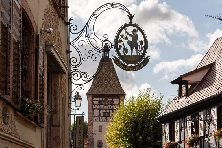 Vista a la Porte-Haute desde la Grand-Rue