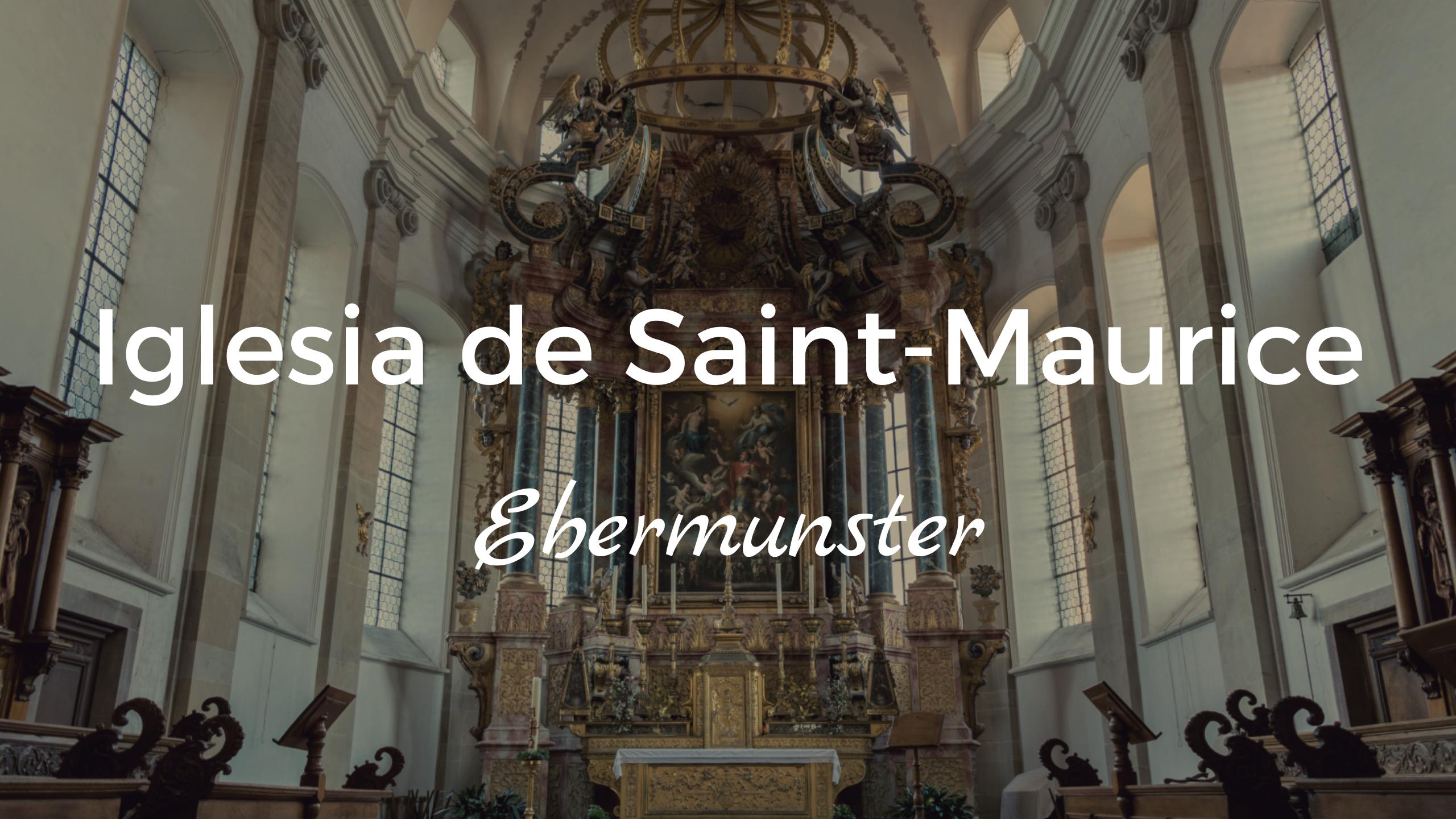 Iglesia de Saint-Maurice (Ebermunster)