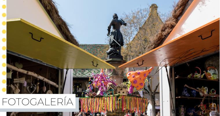 Mercado de Pascua y Primavera de Colmar 2019 (Fotogalería)