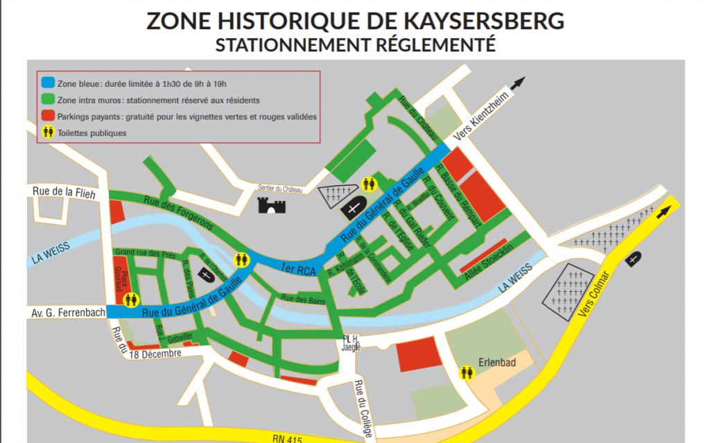 estacionamiento Kaysersberg