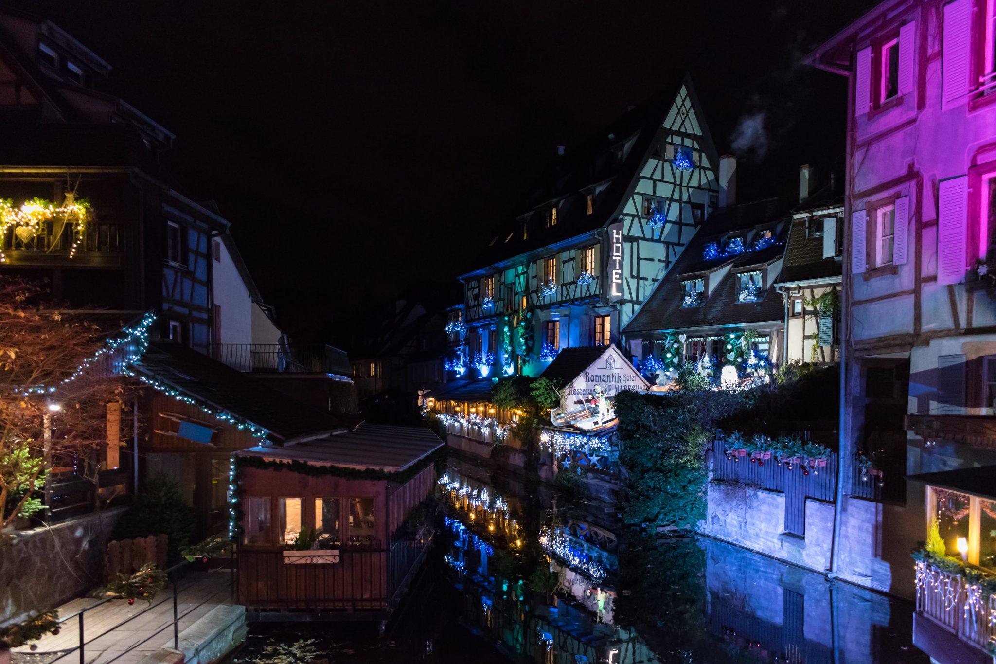Iluminación Colmar y Estrasburgo