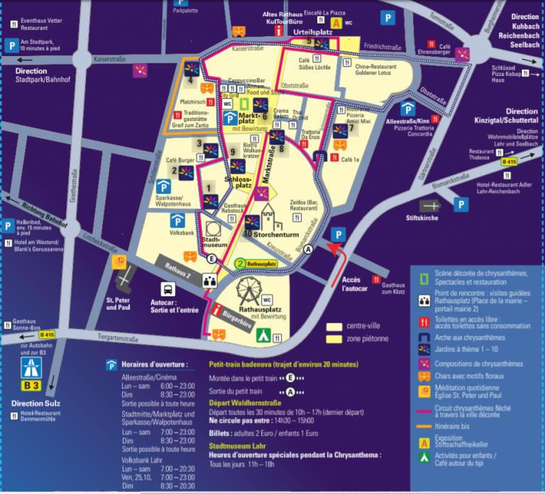 Mapa Lahr
