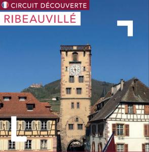 Mapa turísitico Ribeauvillé