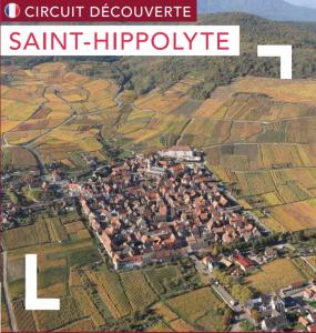 Mapa turístico Saint-Hippolyte
