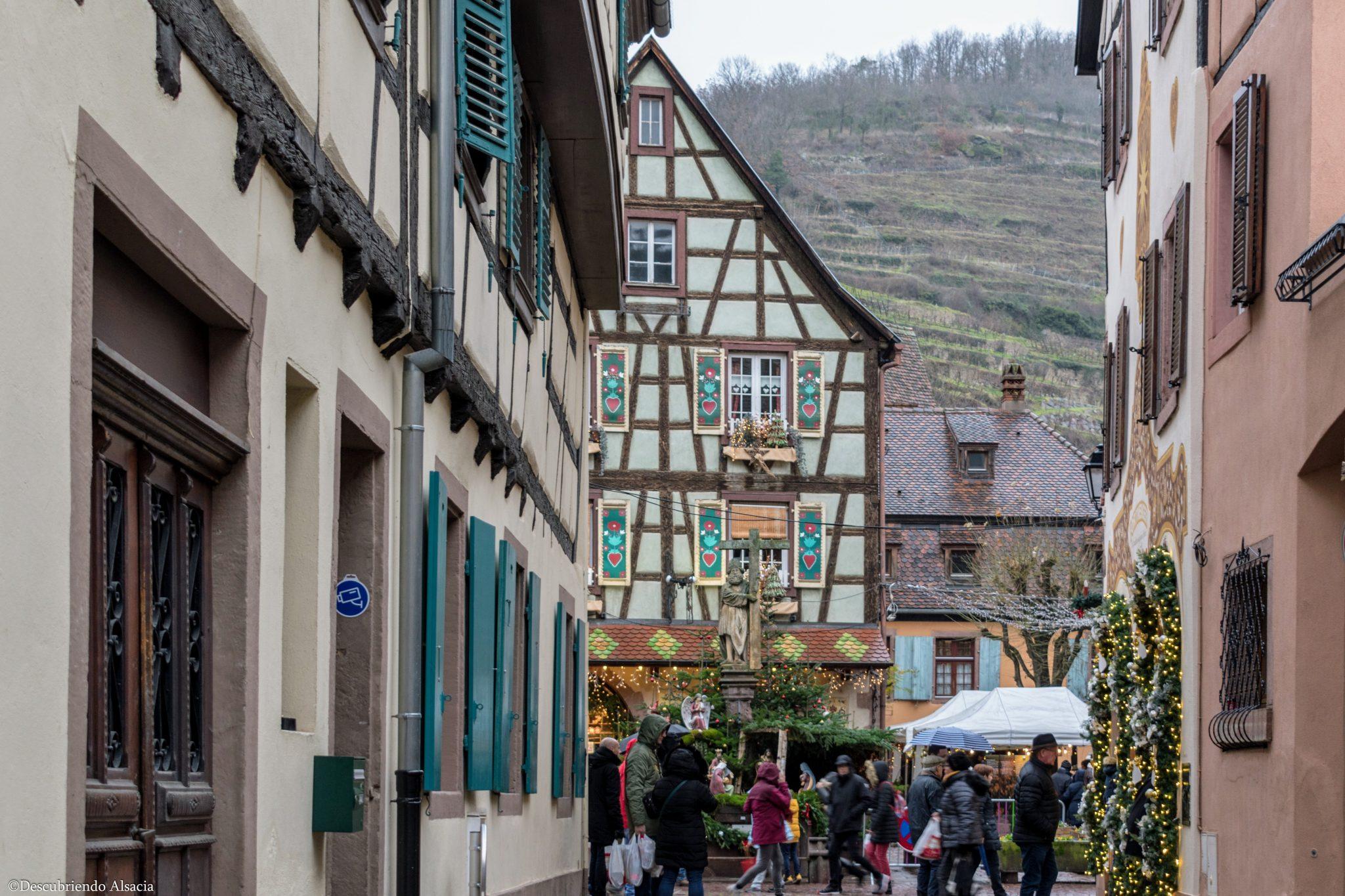 Kaysersberg mercado navidad